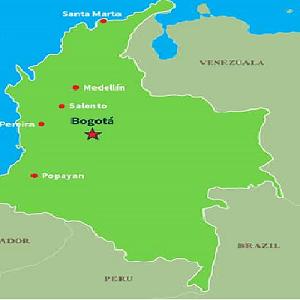 Surrogacy in Columbia- Map